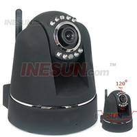 Wholesale Security CCTV Wireless WIFI amp Wired Pan amp Tilt IR Day amp Night IP Camera