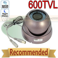 Cheap SONY CCD 600TVL High Resolution Metal Housing Waterproof IR Camera