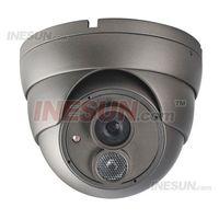 Cheap CCTV 1 3 inch SONY 600TVL High Resolution 6mm lens OSD Menu Array IR Dome Camera Day and Night Monitoring