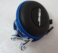 Wholesale YJ With Carry Case SMS Audio In Ear Wired with mic IN Case use for cell phone computer