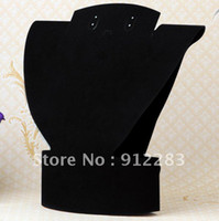 Wholesale mm Black Velvet Fabric Necklace Pendant Display Stand Jewelry Display
