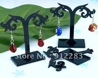 Wholesale mm Black Acrylic Earring Jewelry Holder Display Stand Fashion Jewelry Display