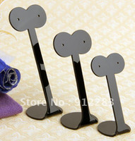 Wholesale Sets Eyes Black Acrylic Earring Jewelry Holder Display Stand