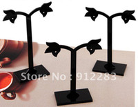 Wholesale Sets Flower Acrylic Jewelry Holder Display Stand