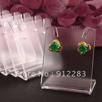 Wholesale mm Clear Acrylic Earring Display Stand Holder Fashion Jewelry Display