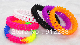 Wholesale Hot Multicolor Link Chain Silicone Punk Bracelet Silicon Wristband Fashion Bracelet