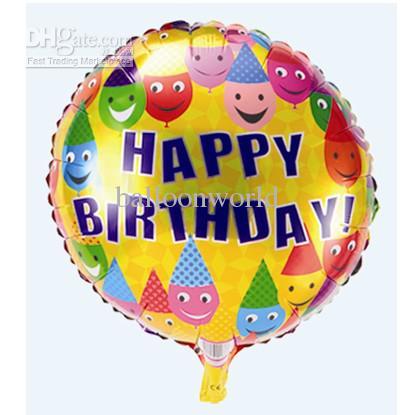 Happy Birthday Balloons Happy Birthday Cartoon Design