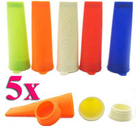 Cone Holders Silicone Rubber ECO Friendly Silicone Push Up Ice Cream Jelly Lolly Pop For Popsicle Maker Mould Mold