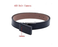 Wholesale New GB Camera DVR Unique Surveillance Tool Faux Leather Belt and Metal Buckle Design Hot sell