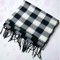 Wholesale Cheap Hot Selling Autumn Winter Classic Fashion Wool Blend Scarves Men Women s Plaid Scarves Free Ship