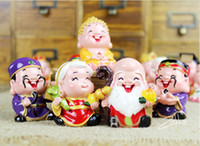 Wholesale 120pcs inch height Buddha Statue Chinese Fengshui Crafts Polyresin Buddha Figurines