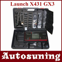 Wholesale 2012 HOT Auto Scan Tool Launch X431 GX3 scanner LCD Color Screen Email Update launch x gx3