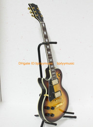 Left Hand Guitar Custom Mahogany Body Electric Guitar High Quality Ebony FingerBoard Wholesale From China