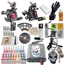 Wholesale Beginner Tattoo kits Machine Inks Power Supplies Grips From Tattoooo DIY