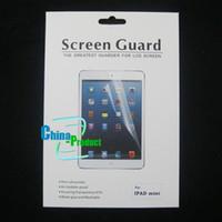Wholesale 2012 Newest For Ipad mini Screen Guard Film protector Cover LED Screen