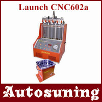 Wholesale 100 Original Launch CNC602a Injector Cleaner and tester V V with fuel supply system