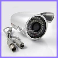 Wholesale 1 quot LED Color Night Vision Indoor Outdoor security CMOS IR CCTV Camera CCTV Surveillance