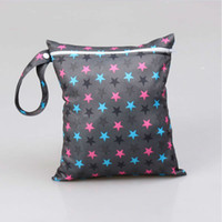 Wholesale Waterproof PUL Baby Kit Wet Bags With Zipper Style