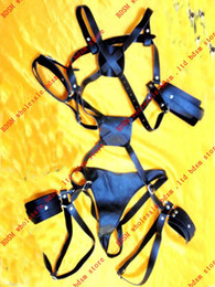 BDSM FATORY Female X-Sharp Harness with Pants Restraint Set R-47