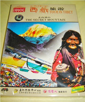 Wholesale Tour in Tibet The Secret Mountain box packing DVD new top quality