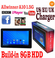 Wholesale Flytouch Allwinner A10 quot Superpad Tablet PC Android With GPS Wifi Camera