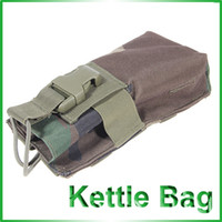 Wholesale Military Utility Waterproof High Density Strong Nylon Way Radio Kettle Bag Waist Bag