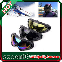 Wholesale 3 Colors New Motorcycle Bike Bicycle Ski Scooter Windproof Eye Protection Glasses Goggles