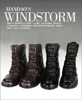 Half Boots mens boots - Fashion boots the leather attache boots Martin boots snow boots mens boots cotton
