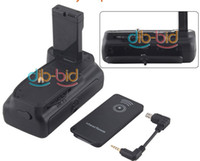 Wholesale New Battery Grip For Nikon Digital Slr D3100 D5100 Camera En El14 Ir Remote