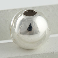 Wholesale Loose Beads Charms Clips Clasp Ball Fashion Athentic Sterling Silver Jewelry Making KT045B