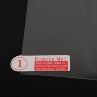 Wholesale 200pcs quality clear transparent screen protector for Allwiner A13 Q88 tablet inch TM07