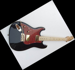 20101010 New strmodel electric guitar in left handed Black
