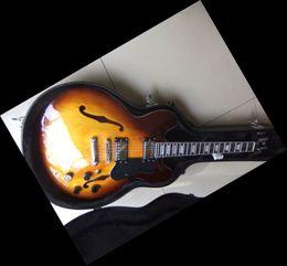 Custom Model 335 Electric Guitar Can be Customized Sunburst 20101022