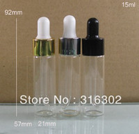 Wholesale 15ml empty glass essential oil bottle ml dropper bottle essential oil container very good quality