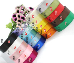 Wholesale Rolls quot mm yards Satin Ribbon Mix Colors Party Christmas Gift Packing Decoration
