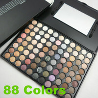 makeup kit - New Color Eye Shadow Cosmetics Mineral Make Up Makeup Eyeshadow Palette Kit Christmas gift
