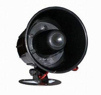 Wholesale 12V Black Loud Universal Auto Car Security Alarm Siren Horn Speaker Loudspeaker Vehicle