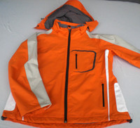 Boys Waterproof Men orange color1 mens Jackets Two Piece Set Waterproof Windproof Ski Suits jerseys