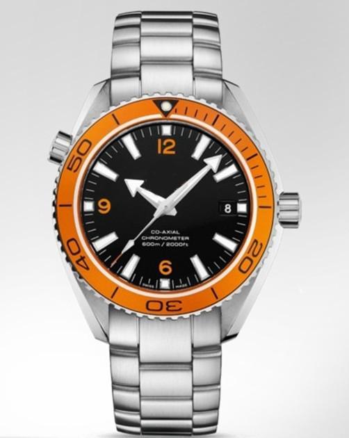 luxury planet ocean orange bezel 45mm men automatic watch 2208 50 see larger image