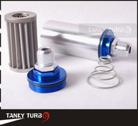 Wholesale Tansky Fuel filter with steel filter Fitting silver AN10 TK OF002