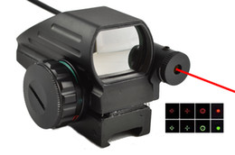 Red Dot Sight with Laser Sight Combo w  Pressure Switch Red Green Dot