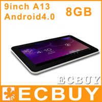 Wholesale Xmas Inch Allwinner A13 Tablet PC Android Capacitive Screen GB Camera Skype T900 N900