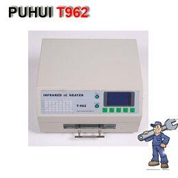 Wholesale PUHUI T962 Reflow Station de soudage Infrarouge IC Chauffage IR Préchauffage Four