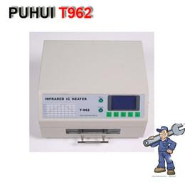 PUHUI T962 Reflow Station de soudage Infrarouge IC Chauffage IR Préchauffage Four à partir de un four de brasage par refusion fabricateur