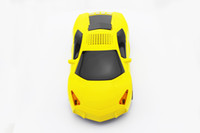 Wholesale Portable LP700 Sport Car shape mini music Speaker support TF Card USB FM Radio Function
