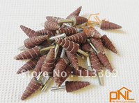 Wholesale 10pc mm Deburring Flap Sanding and Polishing Wheel Dremel Accessories for Rotary Tools