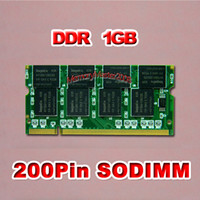 Wholesale 1x1GB PC2700 PIN SODIMM NOTEBOOK DDR333 MEMORY RAM LAPTOP MEMORY