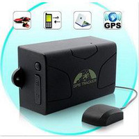 Wholesale Real Time Long standby Magnet Weatherproof Car GPS Tracker tk104 bands GSM
