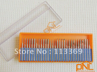 Wholesale 30pc quot shank diamond Mounted point set for rotary tools orange box