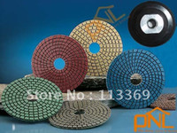Wholesale NEW pc quot Diamond Polishing Pads Wet and Dry Set amp Backer Pad Granite Concrete